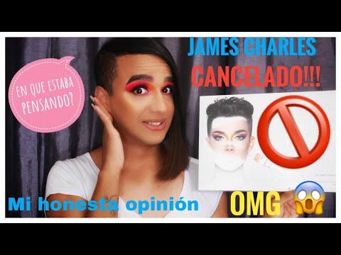 JAMES CHARLES CANCELADO 🚫/PROBANDO MORPHE X JAMES CHARLES/REALMENTE JAMES CHARLES ES PURO TALENTO? thumbnail