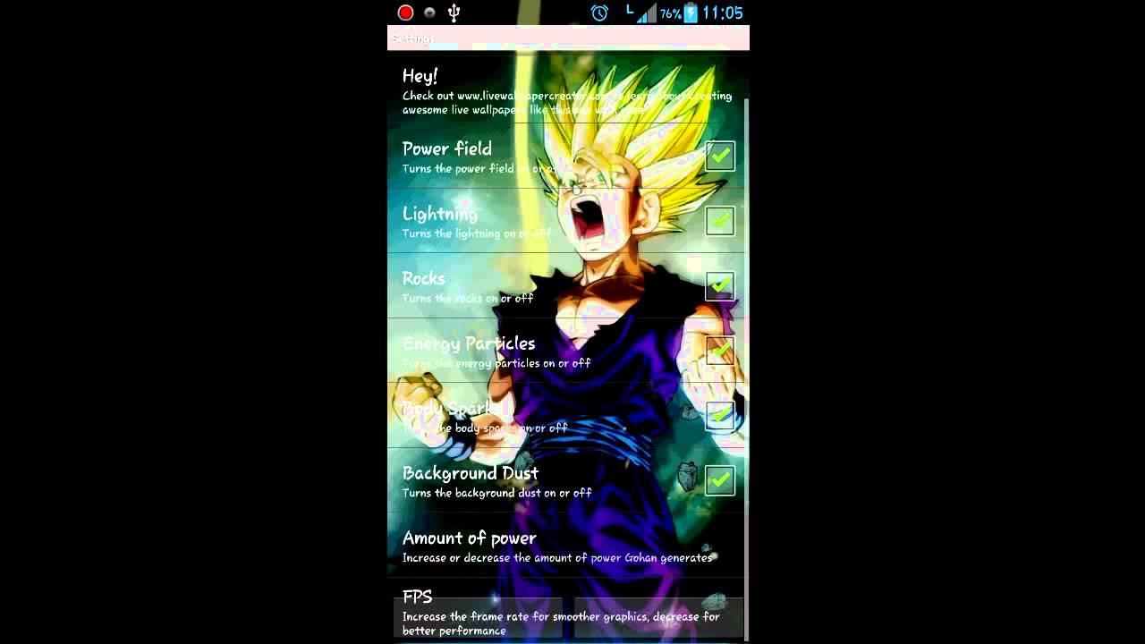 Super saiyan 2 android live wallpaper youtube - Super saiyan live wallpaper ...