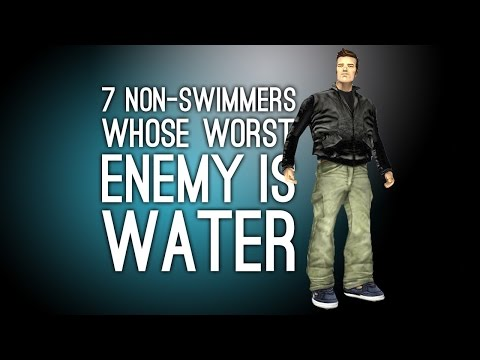 7 Non-Swimmers Whose Worst Enemy Is Water