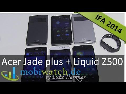 Acer Jade plus + Liquid Z500: Pfiffiges Konzept - Hands-on-Test