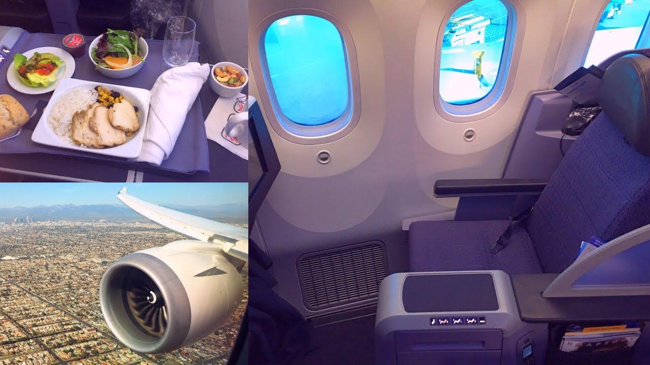 United Boeing 787 8 Dreamliner First Class Polaris