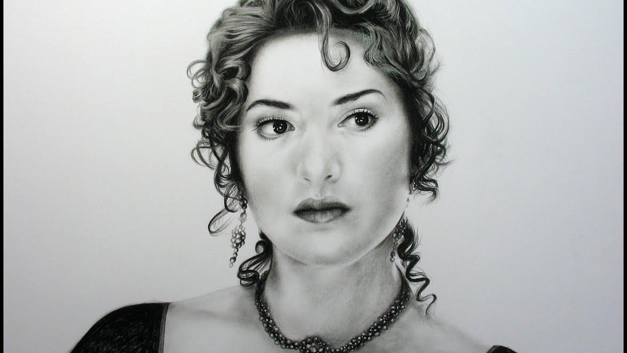 Drawing Kate Winslet -...
