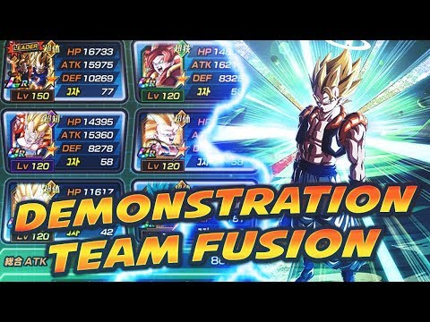 TEST TEAM FUSION GOGETA LR LA MEILLEURE TEAM DU JEU ? DBZ DO
