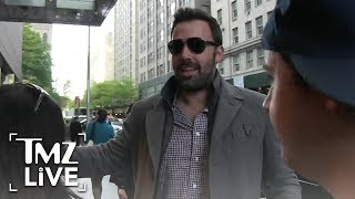 Ben Affleck: Back Filming After Rehab | TMZ Live
