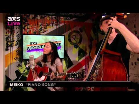 "Meiko Performs ""Piano Song"" on AXS Live"