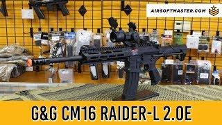 G&G Combat Machine CM16 Raider-L 2.0E Airsoft Gun