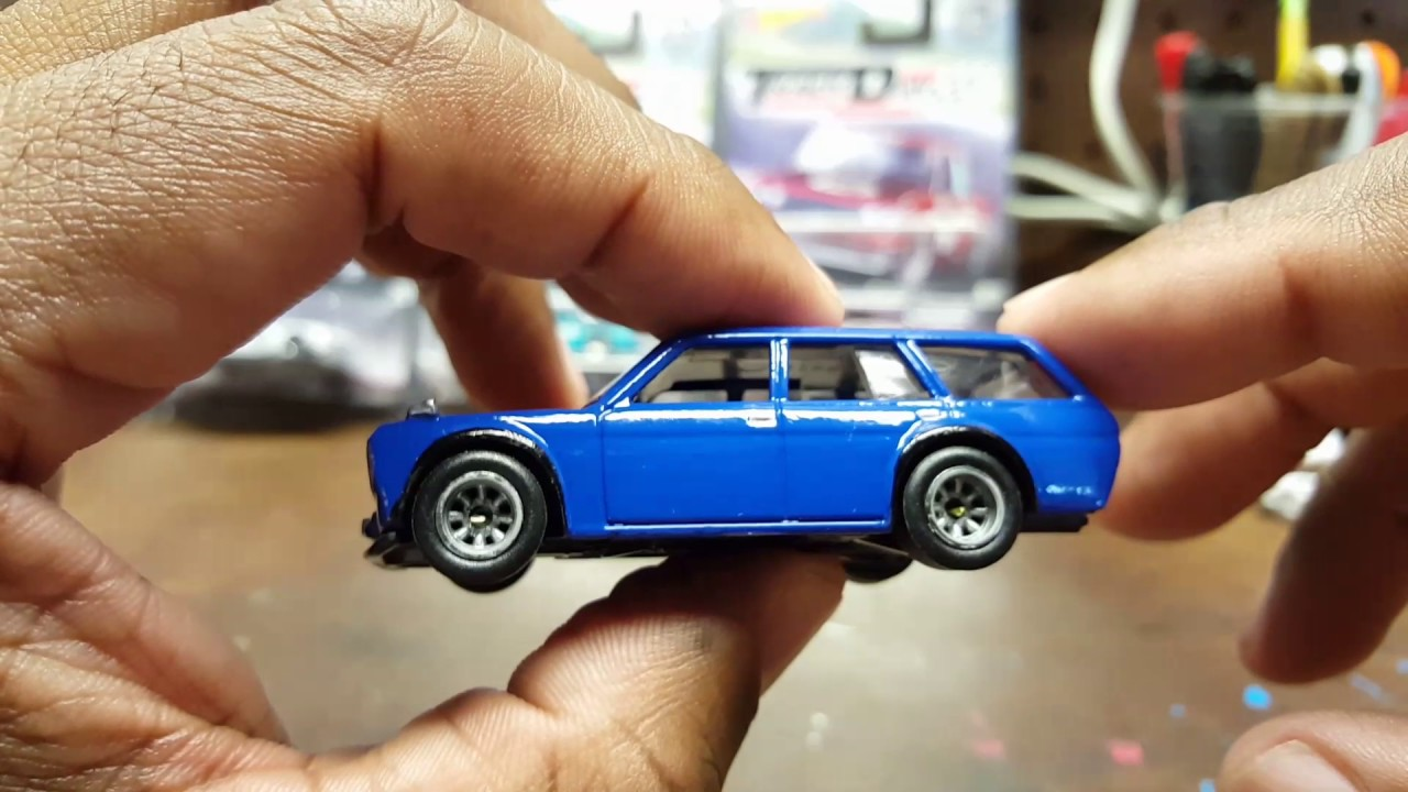 Hot Wheels Datsun 510 Wagon Bluebird Custom Episode 26