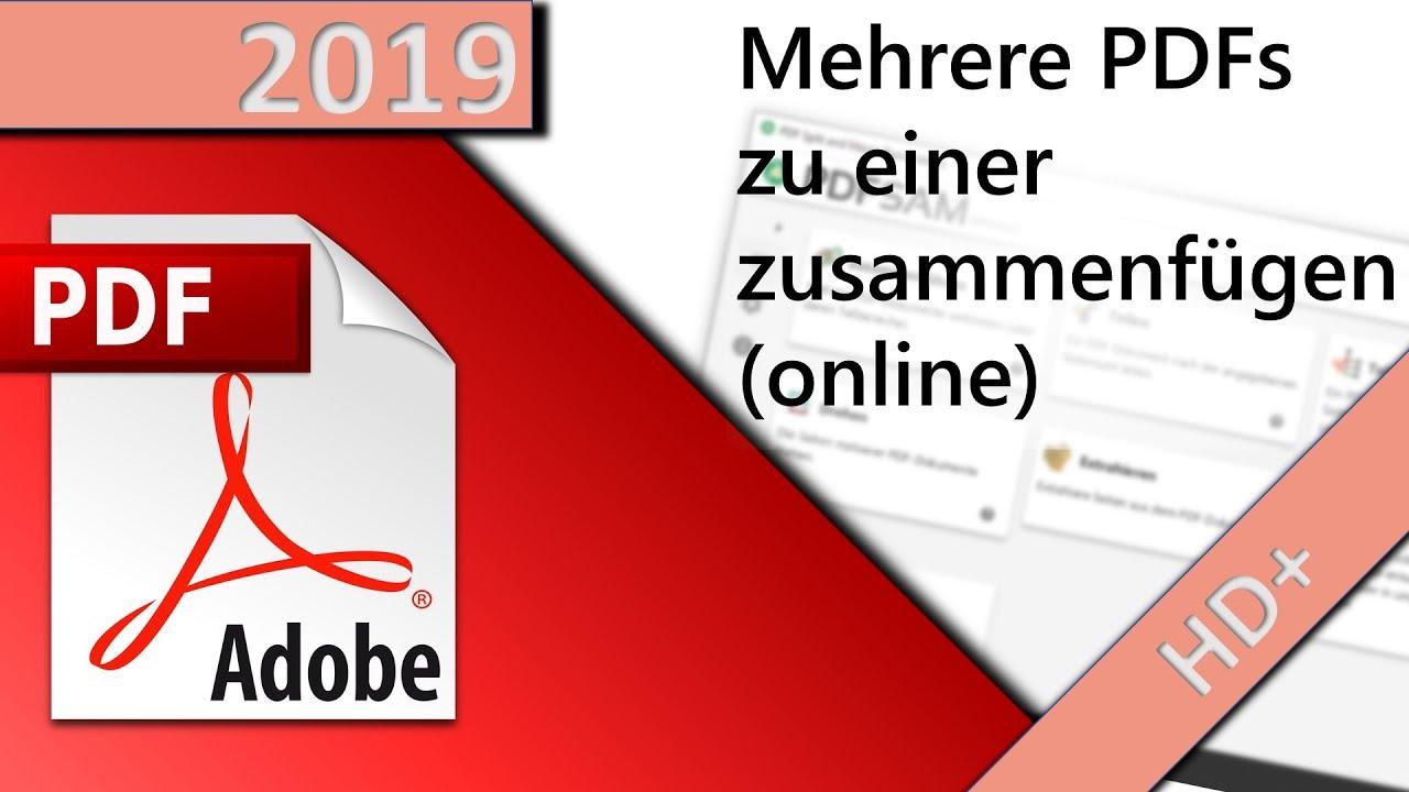 pdf zusammenführen online