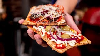 BBQ Pizza Recipe - - Quick Easy and Tasty ! - -Game changing Snack