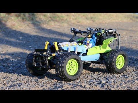 Lego Technic 42037 Formula Off-Roader RC mod