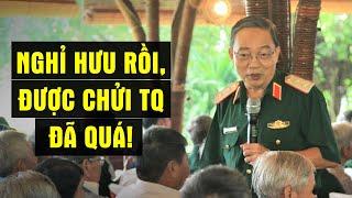 Vừa bị nghỉ hưu, Chính ủy Quân khu 7 lập tức chiêu mộ quần hùng chống Tàu, đuổi Việt Gian