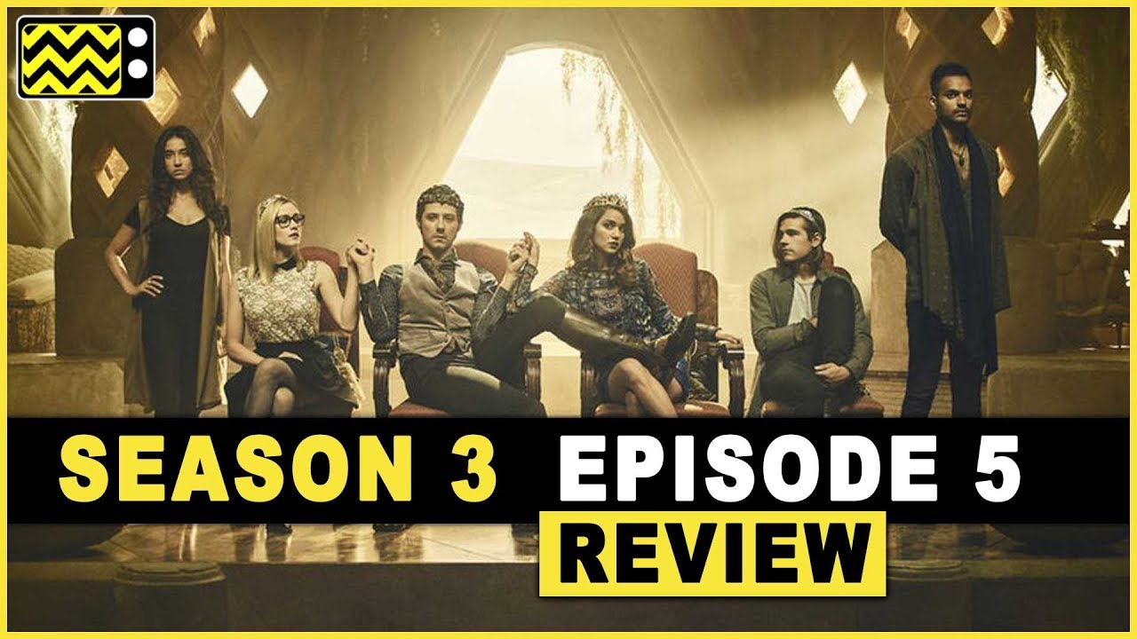 Download The Magicians Season 3 Episode 5 Review w/ Brittany Curran | AfterBuzz TV