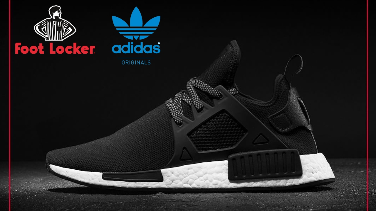 adidas nmd xr1 triple black footlocker