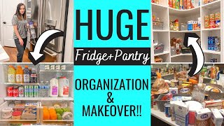 *NEW* PANTRY MAKEOVER 2020 | CLEAN, DECLUTTER, + ORGANIZE WITH ME | EXTREME CLEANING MOTIVATION