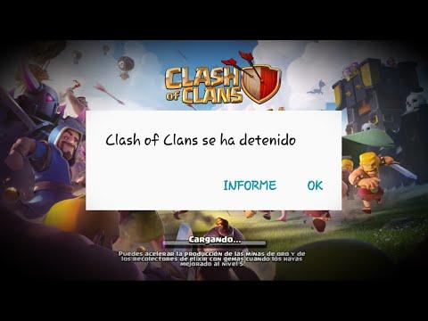 CLASH OF CLANS SE CIERRA | FALLO GRAVE TRAS ACTUALIZACIÓN