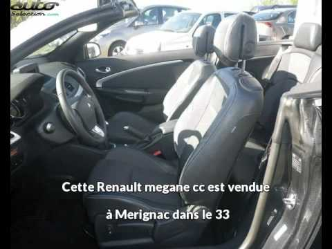 renault megane cc occasion visible merignac pr sent e par renault cap services youtube. Black Bedroom Furniture Sets. Home Design Ideas