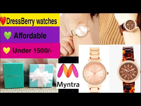 Myntra Haul | DressBerry Watches Review | Myntra Haul 2019 | Myntra Online Shopping | Ria Das