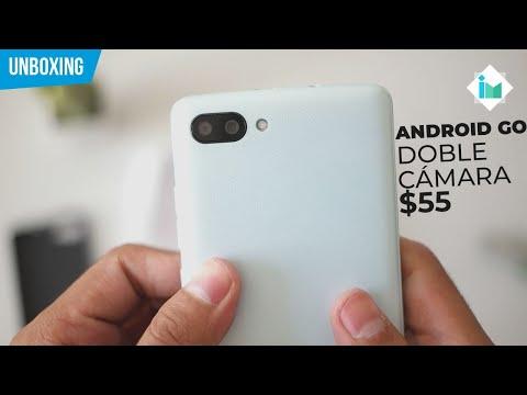 Blackview A20 con Android Go y doble cámara | Unboxing en español