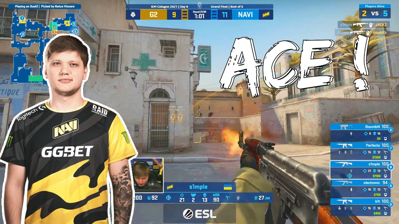 S1mple destroys EVERYONE at IEM Cologne !