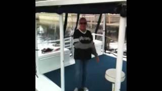 Aluminum Boat Cradle Shoot
