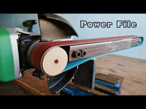 How To Make A Power File || Angle Grinder Hack