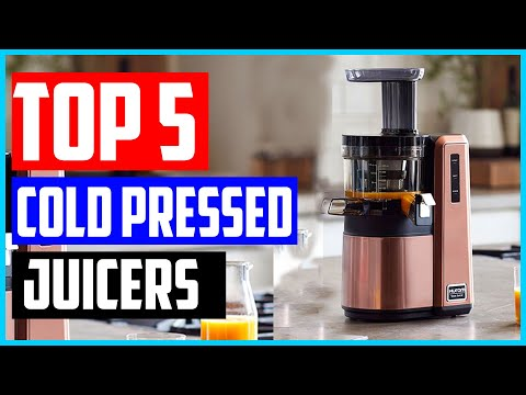 The 5 Best Cold Pressed Juicers In 2020 – Buyers' Guide