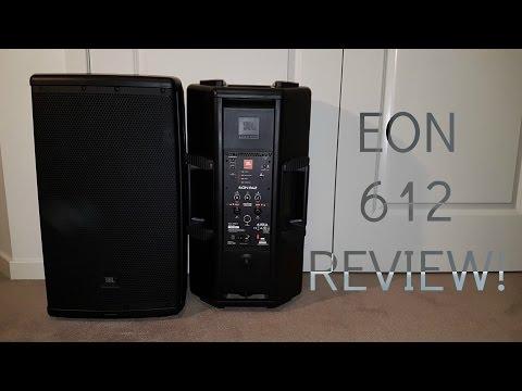 JBL EON 612 REVIEW! + SOUND TEST!