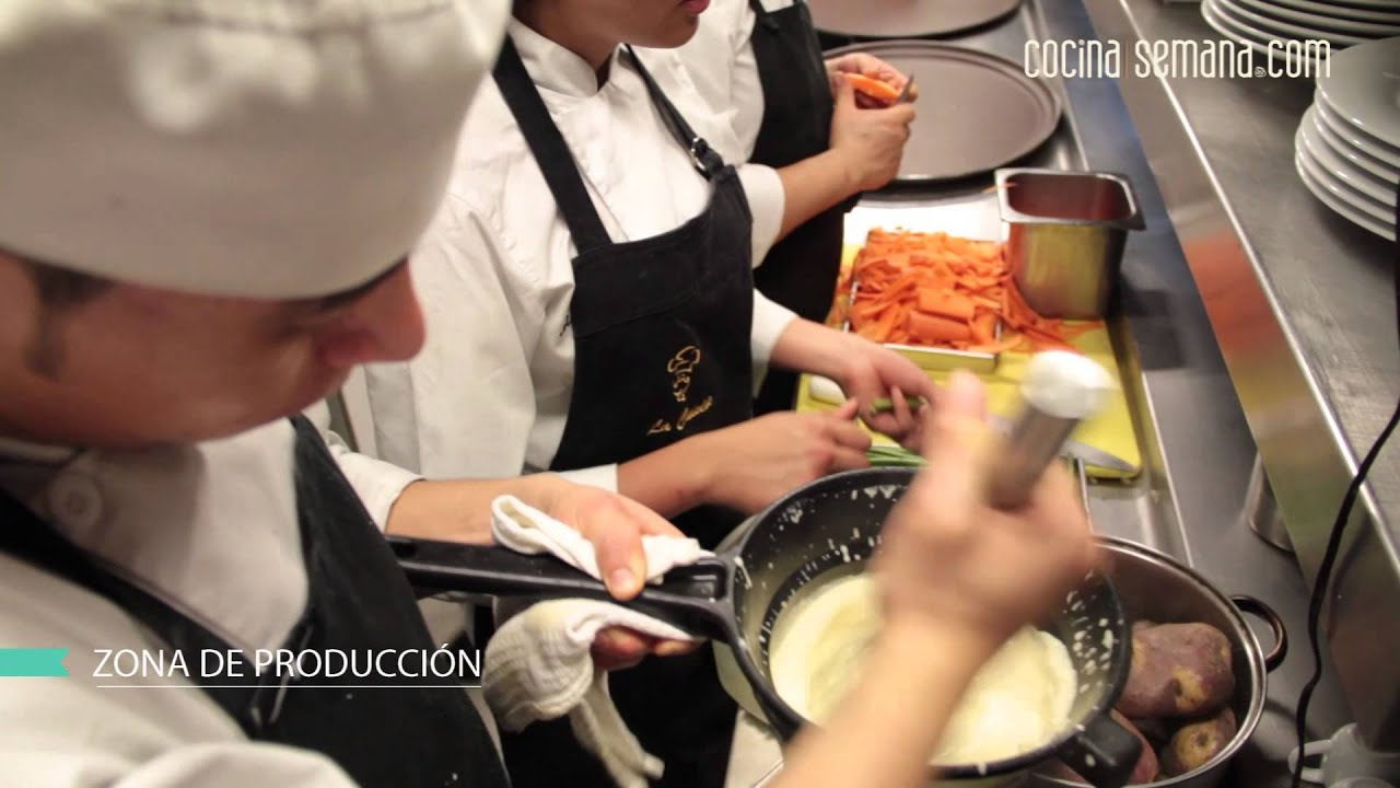 Como Funciona La Cocina De Uno De Los Mejores Restaurantes Youtube