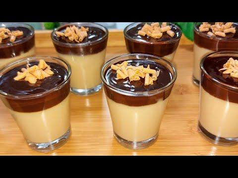 اروع تحلية اوديسيرمذاق الكراميل والشوكولاته