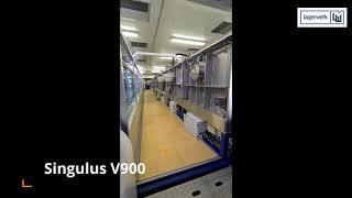 SINGULUS V900 Sputter Coater