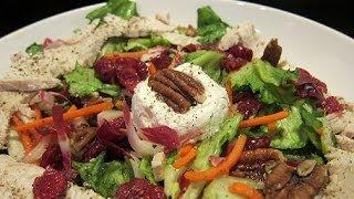 Turkey Cranberry Salad | Holiday Recipe (how To)