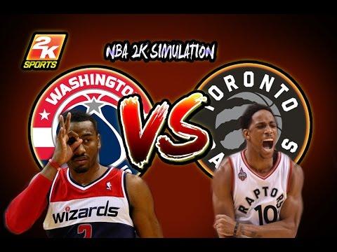 Washington Wizards vs Toronto Raptors - Full game   March 1, 2017   Season 2016-17   NBA 2K17