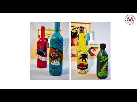 """Sailor Jerry"" Wine Packaging Project by Sandie Smillie at Marbella Design Academy"