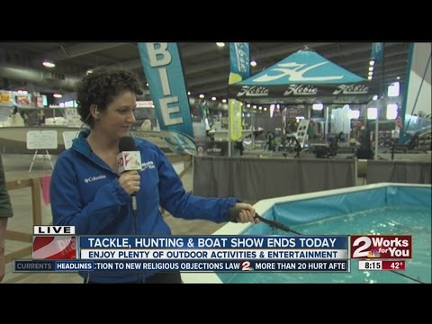 Mid-South Tackle Hunting and Boat show At Tulsa Expo Center