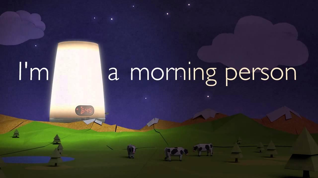 Philips Wake Up Light Ad Youtube
