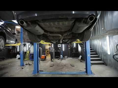 Удаление катализаторов Camry 3.5 Toyota