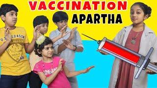 ഒരു vaccination അപാരത | Funny series | Minshas world