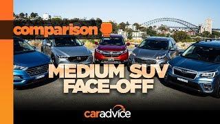 2018 Medium SUV Mega Test: Honda CR-V, Hyundai Tucson, Kia Sportage, Mazda CX-5, Subaru Forester