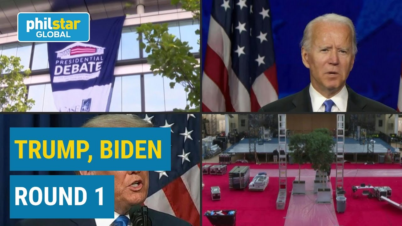 Trump and Biden goes head to head in their first US presidential debate
