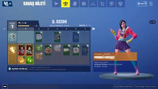 Fortnite 9. Season Battle Pass/Ticket de bataille