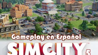 SimCity 5 gameplay en español