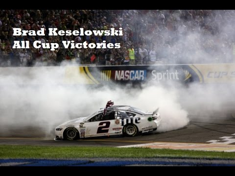 Brad Keselowski - All Cup Series Wins