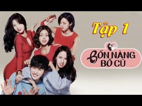 Bốn Nàng Bồ Cũ, Tập 1, Phim Hàn Quốc, Lồng Tiếng, VTV Cab7