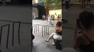 Australian kids talented street music