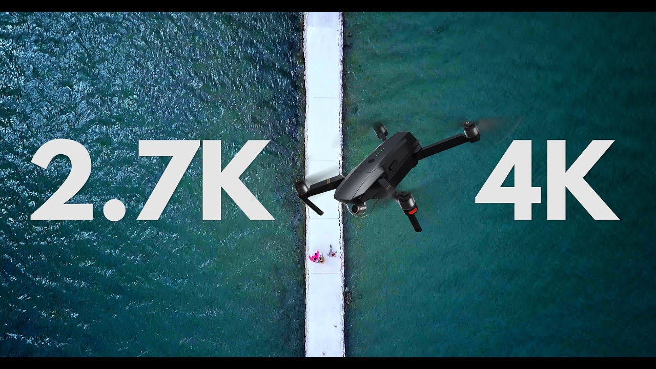 DJI MAVIC PRO 2.7K VS 4K Resolution (Q\u0026A Part 3) - YouTube