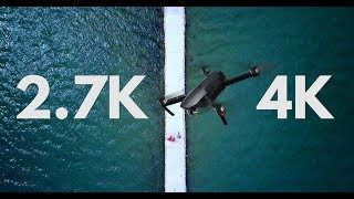 DJI MAVIC PRO 2.7K VS 4K Resolution (Q&A Part 3)