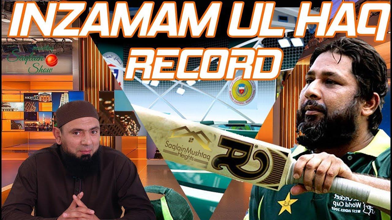 Pakistani Viv Richards | Inzamam Ul haq | World Cup  Winner | Saqlain Mushtaq Show
