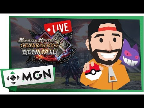 Bl3SSUR de Cacería en Monster Hunter Generations Ultimate de Switch (En Directo) | MGN thumbnail
