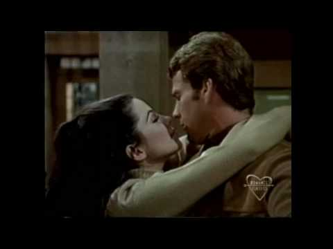 Peyton Place  Ryan O'Neal and Barbara Parkins romantic moment