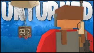 AIRDROPS & PVP! (Unturned Rust Mod)